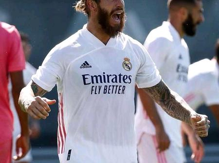 Not A Striker But Scores Like A Striker: Sergio Ramos Has Scored 34 Goals in 102 Games