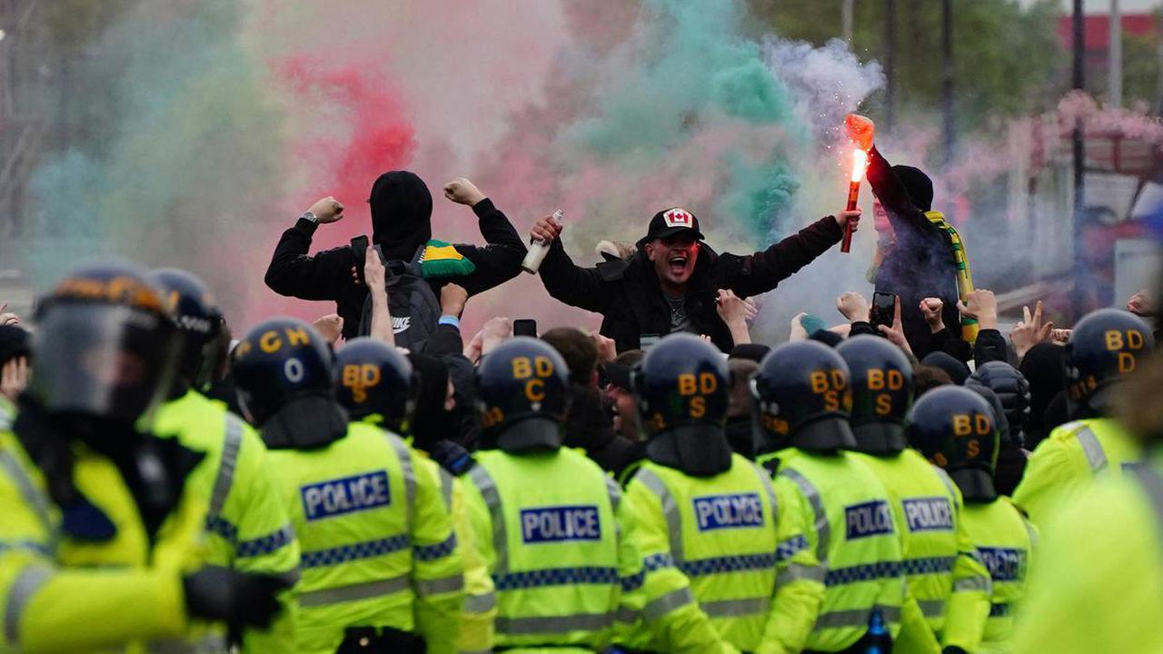 Protesters are harming their own team much more than the Glazers