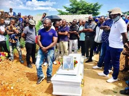 Zambian Man Who Died Of HBP After Zambia Drew Their AFCON Qualifier With Algeria Has Been Buried