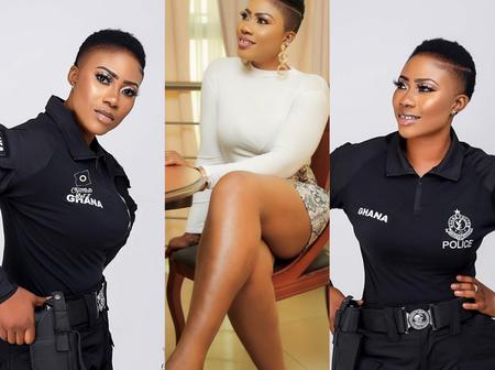 Ghana's Most Beautiful Policewoman Has Grabbed An Award