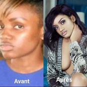 Nathalie Koah, une photo rétro (avant et après) refait surface ce jour