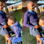 After A Young Boy Impregnated His School Girlfriend, See The Photo He Posted That Got People Talking