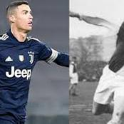 Ronaldo breaks Josef Bican's record to become the highest goal scorer in football history.