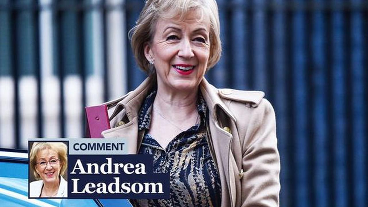 Britain can finally drive the direction of its money, laws and trade says ANDREA LEADSOM