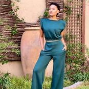 Gail Mabalane left fans inspired with her recent pictures looking absolutely beautiful.