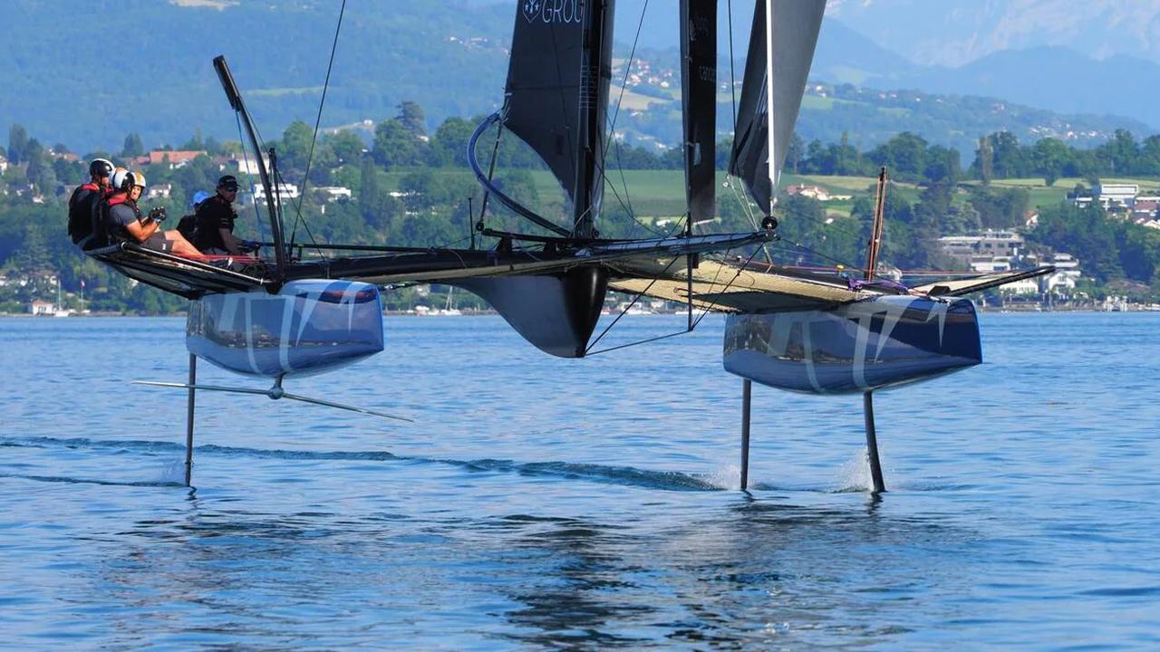 L'Élysée va accueillir les foils bretons de Heol Composites