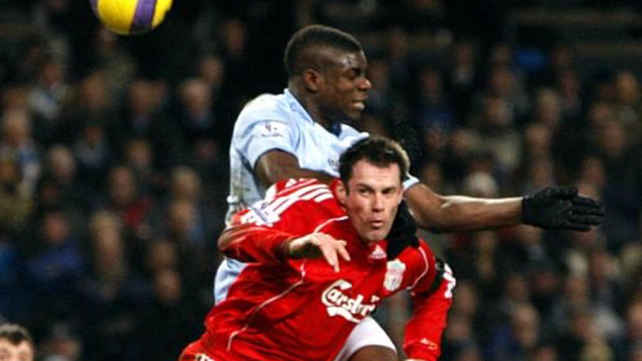 Dance and cartwheel from Micah Richards and Jamie Carragher enliven UCL coverage