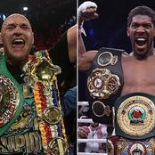 3 More months for Anthony Joshua vs Tyson Fury fight, see their all-time fighting records.