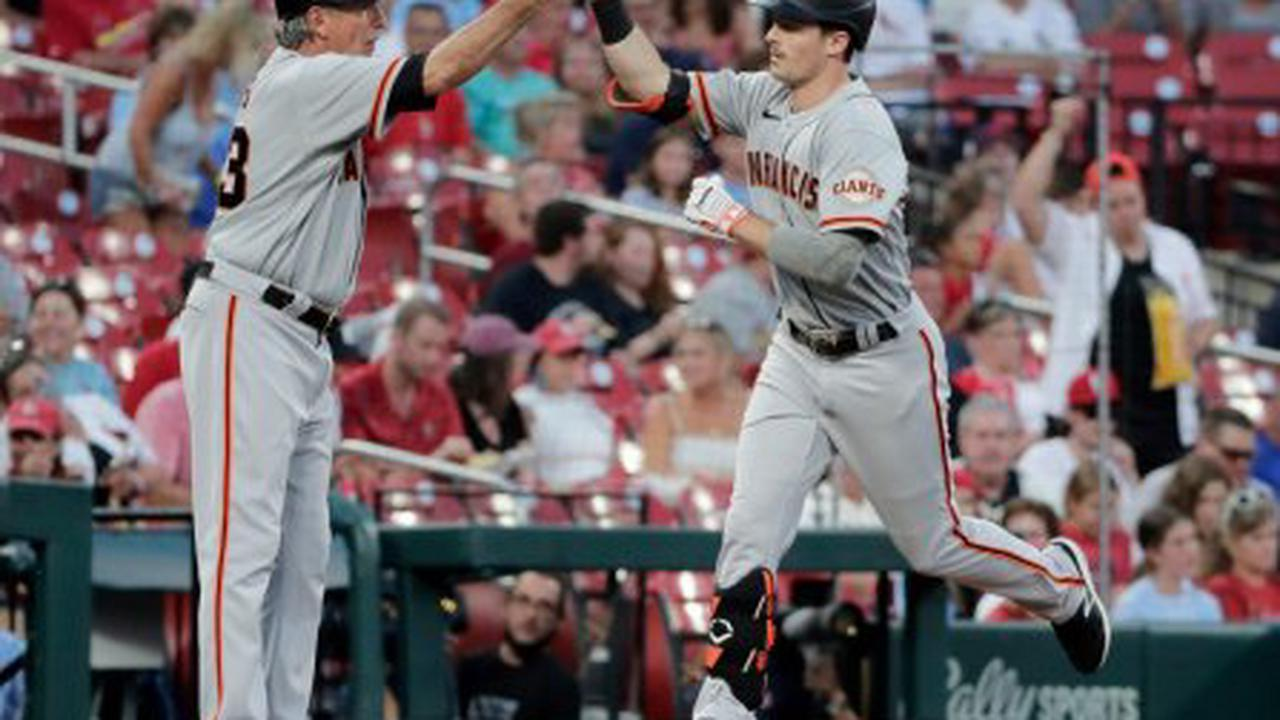 Giants' Mike Yastrzemski: Launches another homer