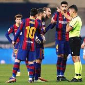 Barcelona To Appeal Messi's Suspension