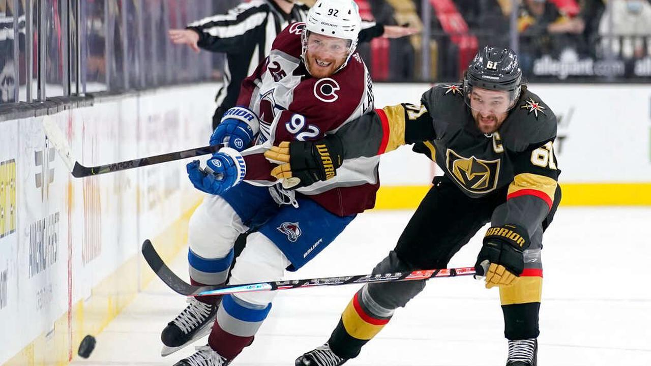 """Avalanche preparing for rock 'em, sock 'em series against Vegas: """"Our compete level is going to have be through the roof"""""""