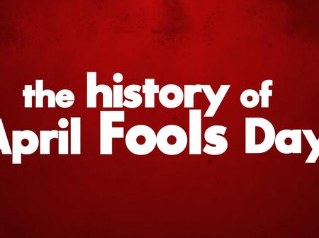 History & Origin of April's Fool Day