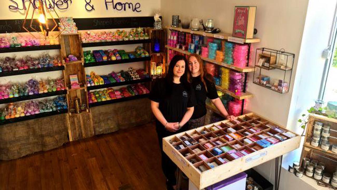 Booming bath bomb business opens new Rawtenstall shop
