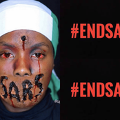 Ghana police stops #EndSARS protest at Nigerian High Commission