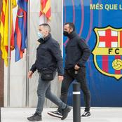 High Profile Arrests At Camp Nou