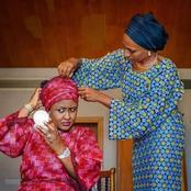 See Photos Of Aisha Buhari And Dolapo Osinbajo That Proves They Are Best Of Friends.