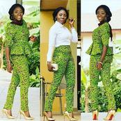 Exquisite Ways To Rock Your Ankara Pants/Trousers