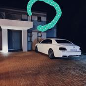 Cassper Nyovest Posted A Picture Of His Home Along With His Car, People Noticed This Instead.