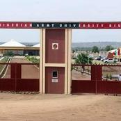 See pictures of the Nigerian Army University in Borno state