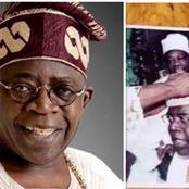 Throwback Photo of Tinubu's Coronation as Asiwaju of Lagos, Meet the late King who Crowned him.
