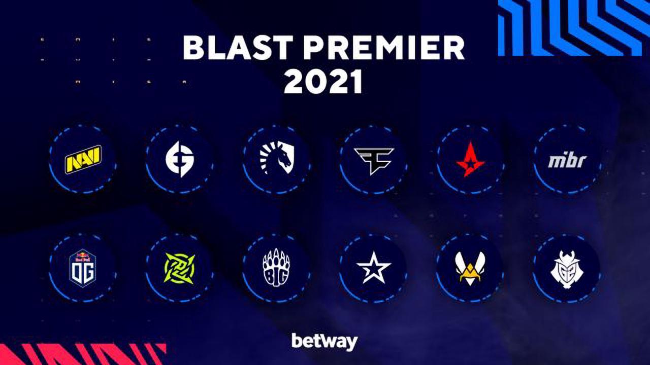 Les équipes des BLAST Premier Spring Groups 2021 ont été annoncées