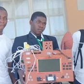 A High School Boy Invents A multifunction Phone