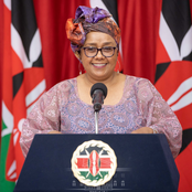 How First Lady Margaret Kenyatta Celebrated International Women's Day (Photos)