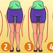 3 Types Of Leg Shape And The Type Of Exercise People Need To Do According To Their Legs Shape