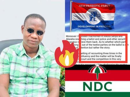2 Days To Go: Mallam Sham Una Drops New Detailed Revelations Concerning Monday Election