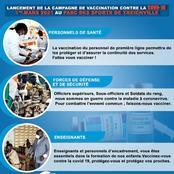 Cote d'ivoire/Santé: lancement de la compagne de vaccination contre le Covid-19 pour le 1er mars 2021