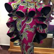 Lovely Ankara Peplum Top Styles For Elegant Ladies
