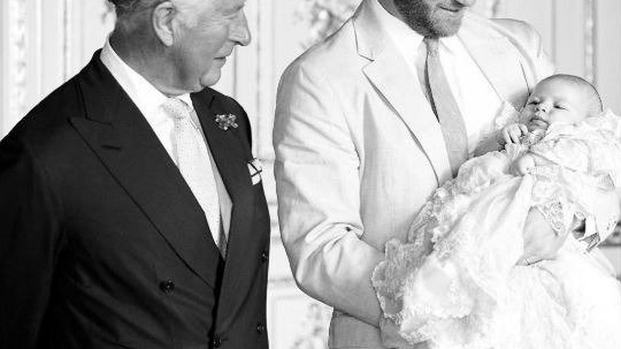 Prince Charles 'has only met Archie twice' as old pic used for birthday post