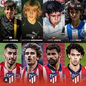 Throwback Pictures Of Antoinne Griezmann, Suarez & Other Footballers Who Played For Athletico Madrid