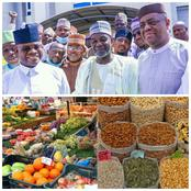 Food Blockade: Southerners Will Start Getting Foodstuff Thanks To Yahaya Bello And FFK (Photos)