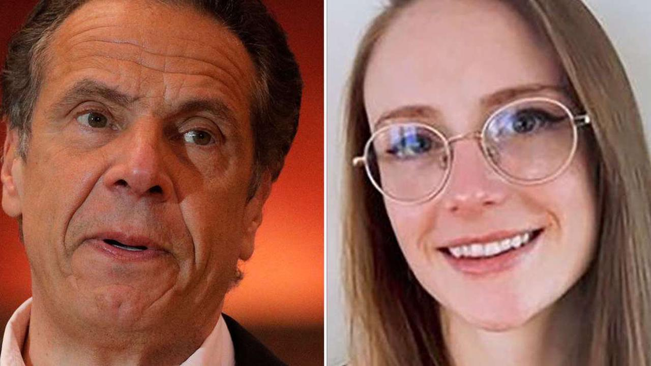 Cuomo accuser Charlotte Bennett slams 'pattern of predatory behavior' after current staffer details grope allegation