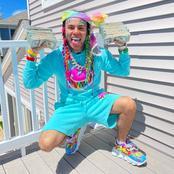 Latest photos of 6ix9ine the American rapper