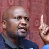 Moses Kuria's Stern Warning to Those Powerful People Tormenting Mount Kenya MCA's
