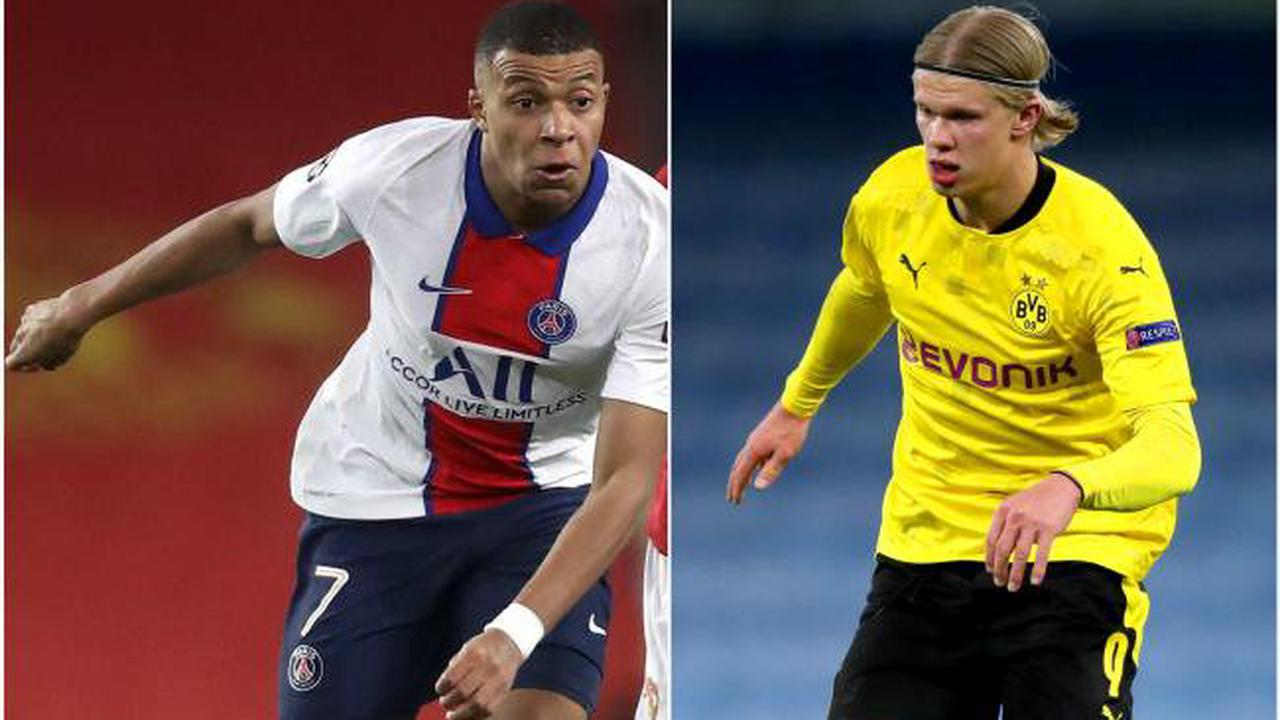 How Kylian Mbappe and Erling Haaland compare to leading Champions League scorers