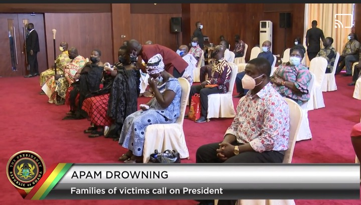 0e6e788036024467ae840f968e17edb1?quality=uhq&resize=720 - Apam Drowning Incident: Families Of Victims Meet Akufo-Addo Face-To-Face; Scenes From Jubilee House