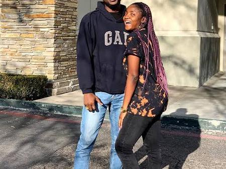 After Adekunle Gold said he watched a movie that is four hours long, See what his wife, Simi said.