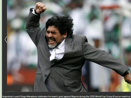 Life and days of Diego Maradona in amazing photos.