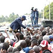 DP Ruto Gets Rousing Reception In Murang'a