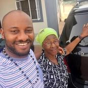 Beautiful photos of popular Nigerian Actors and Actresses with their Mothers