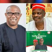 2023: An Alleged Campaign Poster Of Peter Obi For President, Kwankwaso For VP Storms Social Media