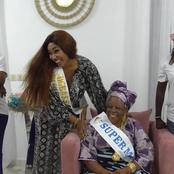 Le geste fort d'Emma Louhoues envers la Super Mémé Côte d'Ivoire 2021