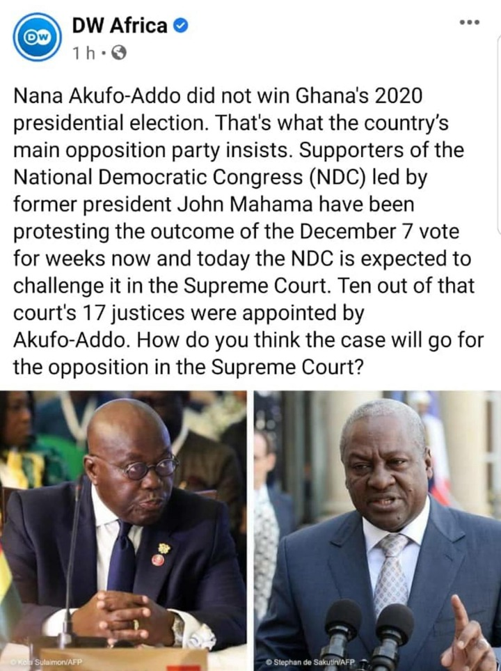 0e8ee1f1ea0b8a5cf653c9d38f62c191?quality=uhq&resize=720 - 10 Out Of The 17 SC Justices Were Appointed By Nana Addo, How Do You Think The Case Will Go For NDC?