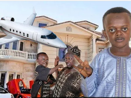 Remember The Famous Dwarf Grand M In Memes, Check Out His Flamboyant Rich Lifestyle (Video).