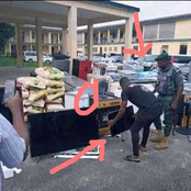 """""""Are the police happy now?""""- See Photos Of Police Recovering Stolen ItemsThat Got People Talking"""