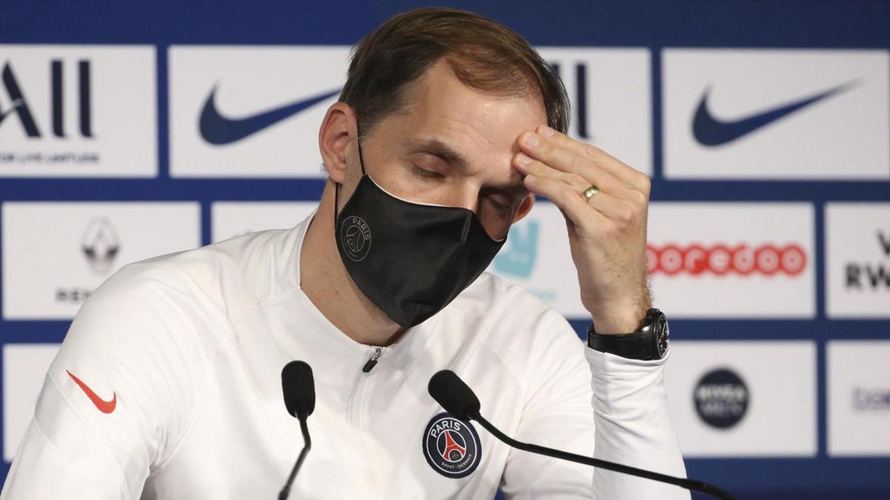 Paris Saint-Germain confirm sacking of boss Tuchel