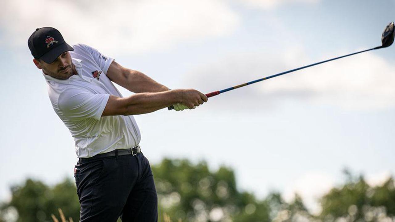 Alexis Leray: le golfeur d'ici venu de la France